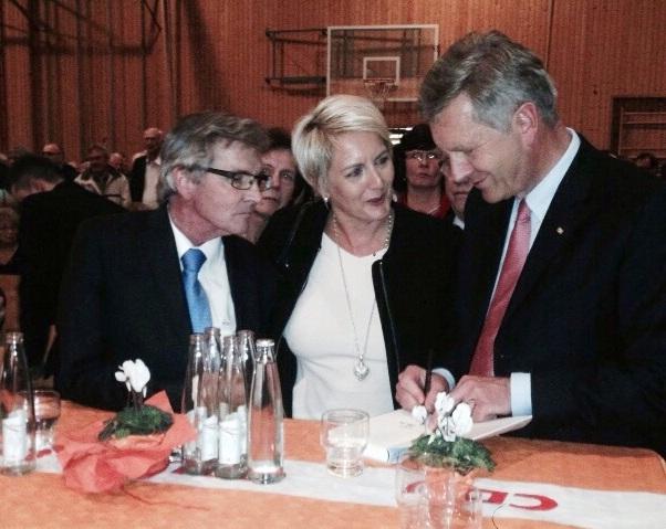 mit Hans Ley + Christian Wulff 11/2014